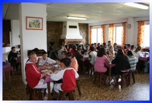 centre de vacances et accueil de groupes hebergement de jeunes a la montagne st lary visite